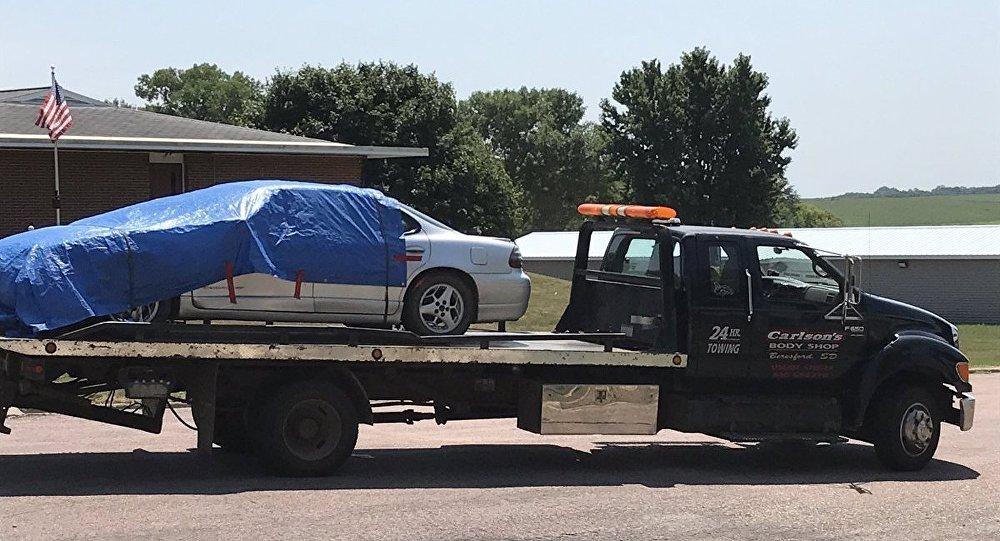 Милиция неназывает терактом наезд автомобиля натолпу вЮжной Дакоте