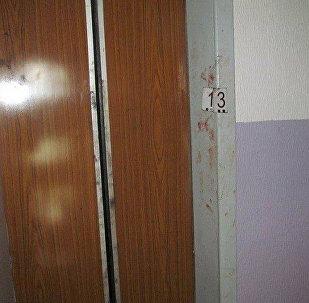 Лифт, где произошло нападение