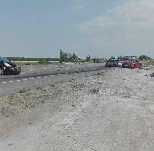 ДТП под Киевом с участием белорусских машин