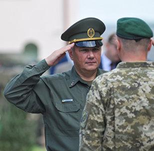 Председатель Госпогранслужбы Украины Виктор Назаренко