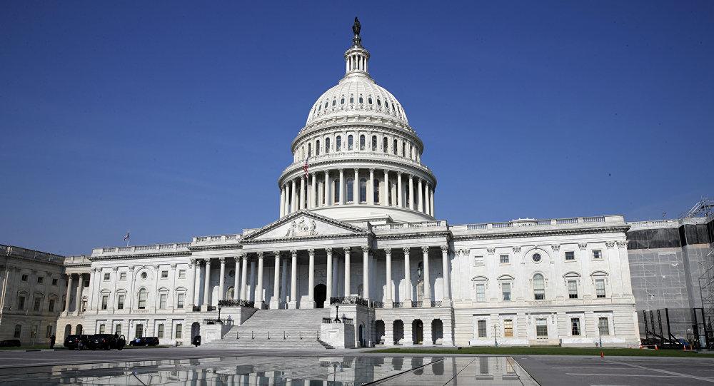Комплекс Конгресса США в Вашингтоне, архивное фото
