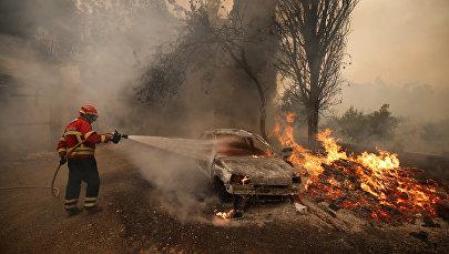 Природные пожары в Португалии