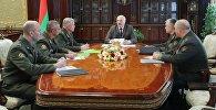 Совещание с руководством Государственного секретариата Совета безопасности