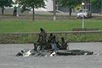 День десантника: Рыцари неба разыграли водный бой