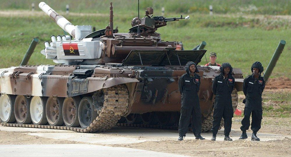 Русский экипаж Т-72Б3 обошел китайцев— Рекорд танкового биатлона