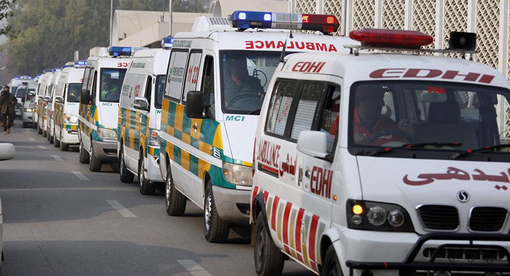 Автобус упал вущелье вПакистане, 27 погибших