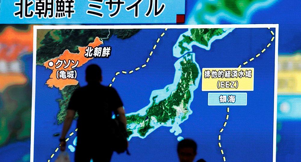 США обнаружили подтверждения нового запуска ракеты КНДР сподводной лодки