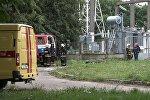 Авария на электроподстанции в Минске, видео