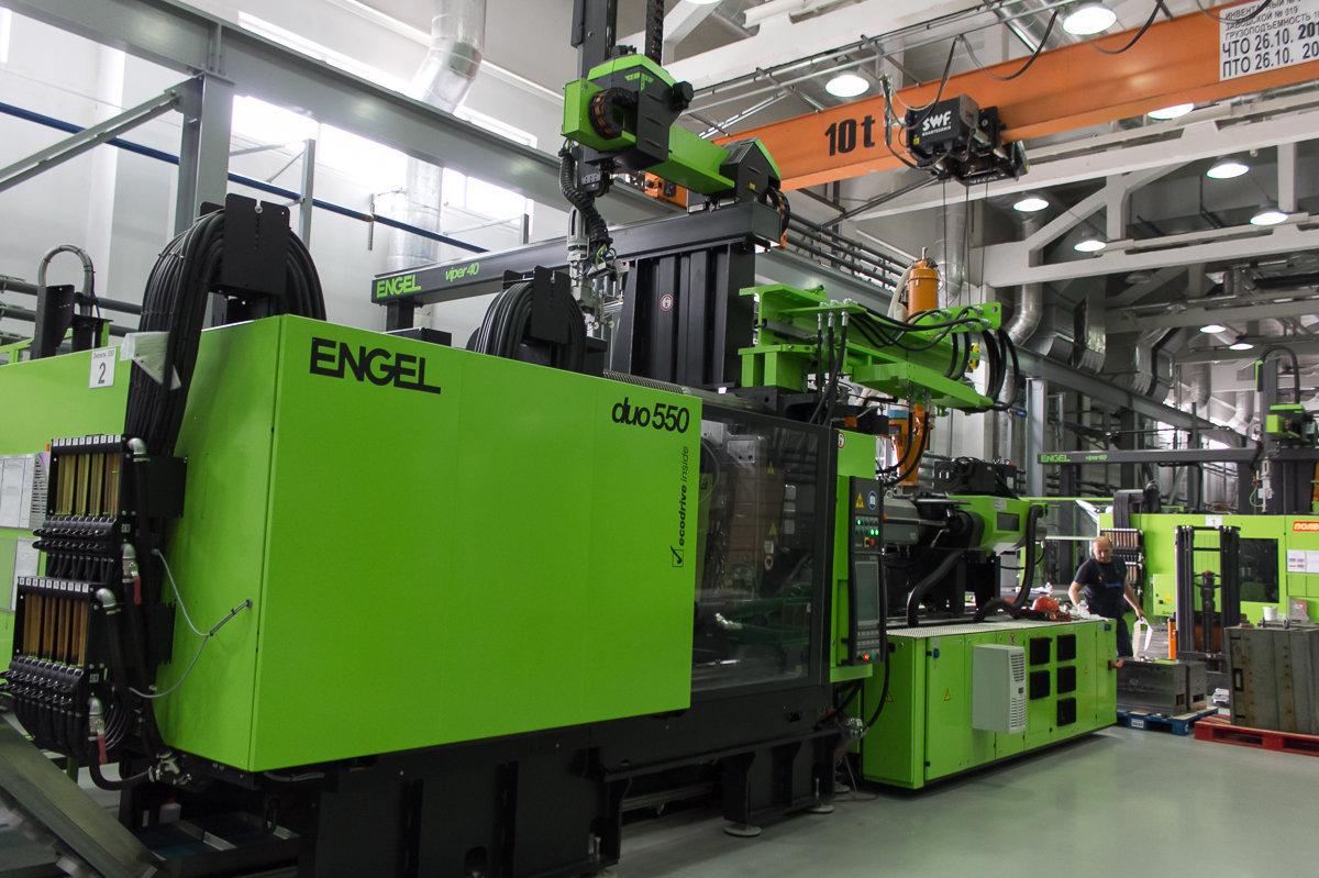 Сегодня производство на предприятии автоматизировано