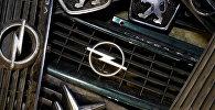 Эмблемы Peugeot, Citroen и Opel