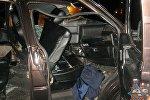 Микроавтобус врезался в грузовик в Полоцком районе
