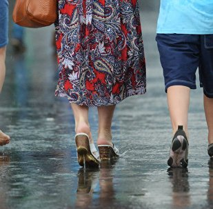 Дождж у горадзе