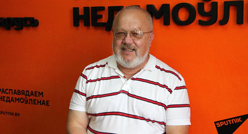 Председатель Союза кемпингов Беларуси Владимир Рудой