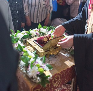 Тапочек святителя Спиридона Тримифунтского Чудотворца