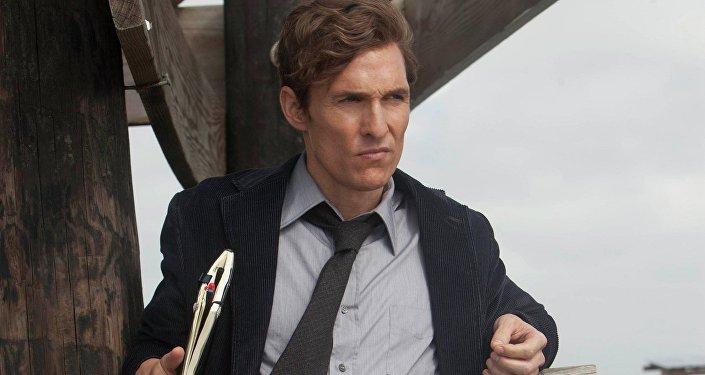 МакКонахи исполнил главную роль в сериале «Настоящий детектив» (True Detective, 2014)