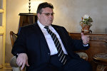Міністр замежных спраў Літвы Лінас Лінкявічус