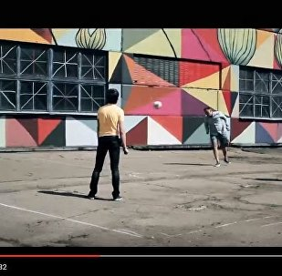 Проморолик к первому фестивалю уличного футбола Квадрат, видео
