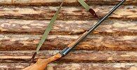 Охотничье ружье, архивное фото