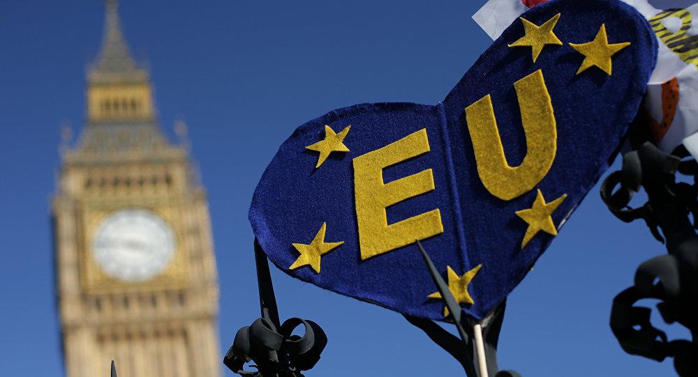 Протесты против Брексита в Лондоне