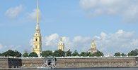 Петрапаўлаўская крэпасць на Няве ў Санкт-Пецярбурзе