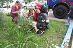 Спасение женщины в Витебске