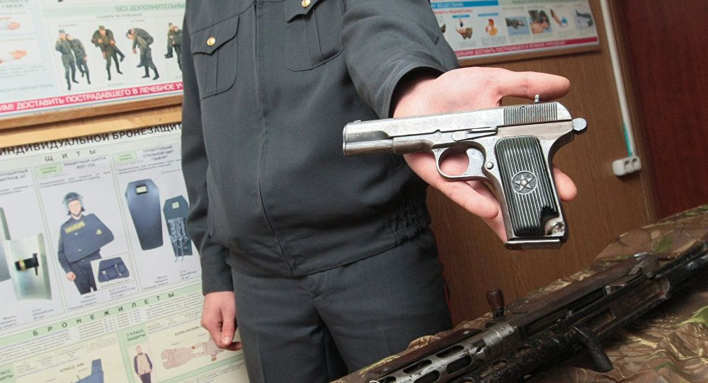 Хулиган, обстрелявший изпневматики троллейбус вГродно, найден— УВД