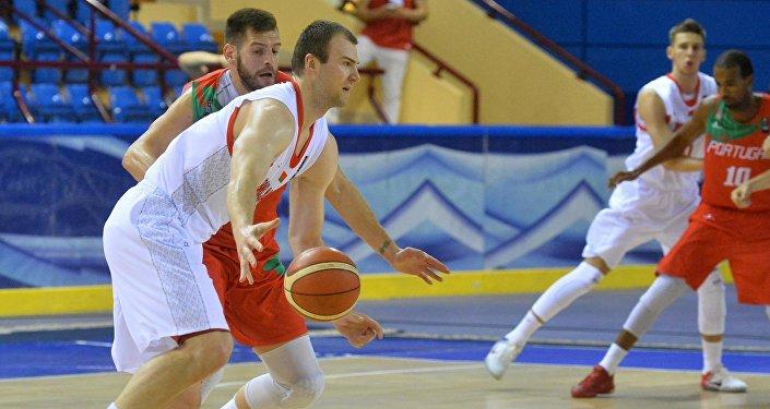 Белорусский баскетболист Артем Параховский