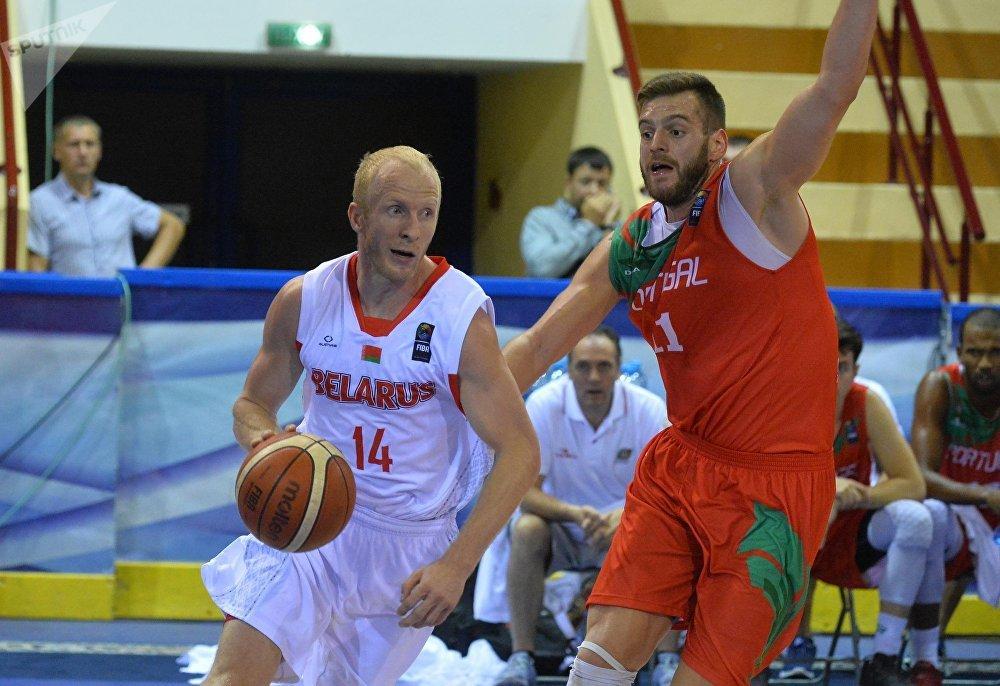 Баскетбольный матч Беларусь – Португалия