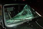 Разбитый BMW