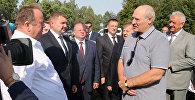 Лукашэнка ў Брэсцкай вобласці
