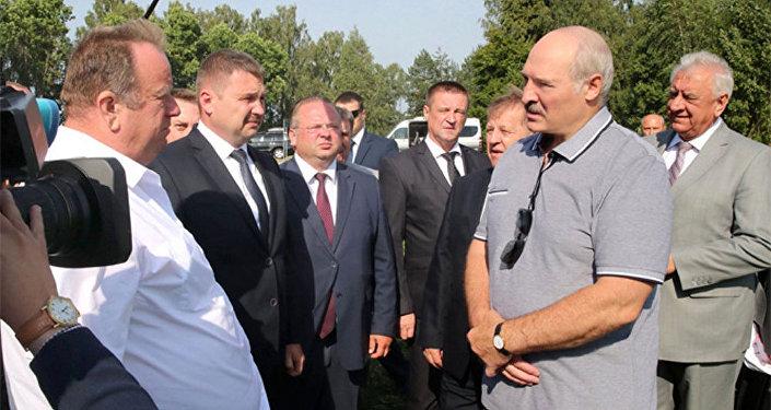 Лукашенко в Брестской области