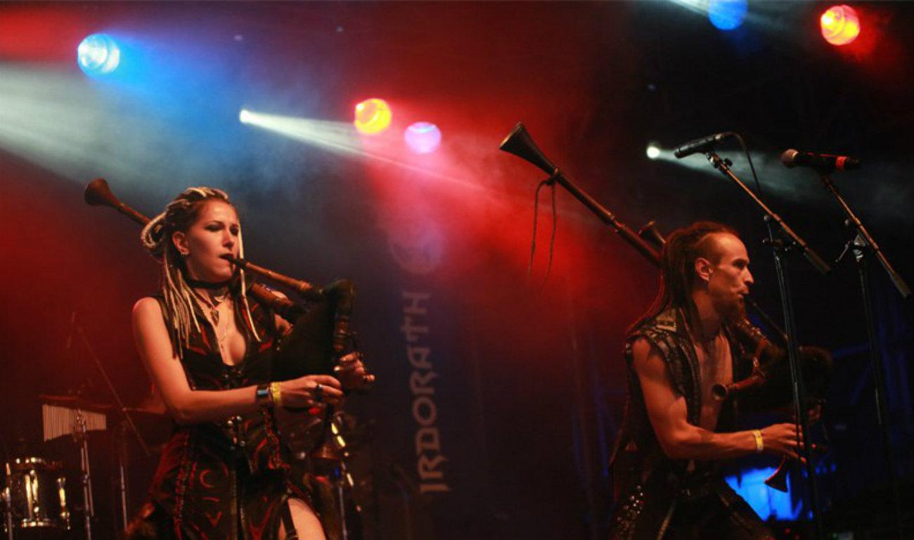 Выступленне гурта Irdorath на фестывалі ў Германіі
