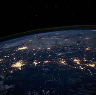Вид на Землю из космоса, архивное фото