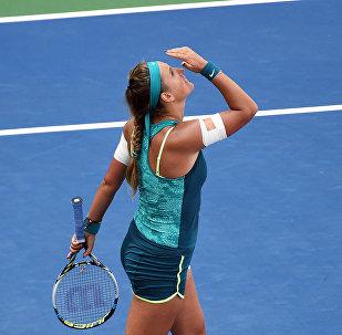 Белорусская теннисистка Виктория Азаренко