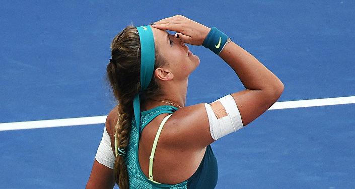 Теннисистка Виктория Азаренко (Беларусь)