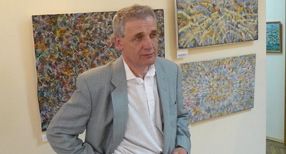 Белорусский художник Виктор Васюкевич