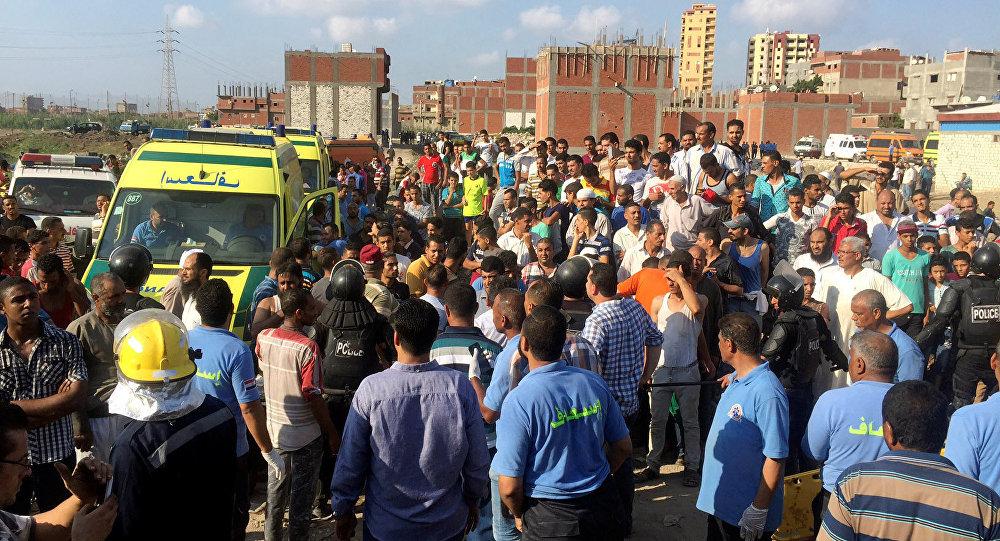 Ситуация на месте аварии в Египте