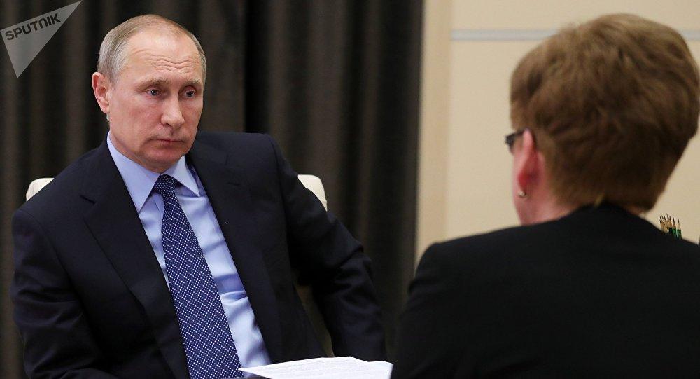 Путин встретился с губернатором Забайкальского края