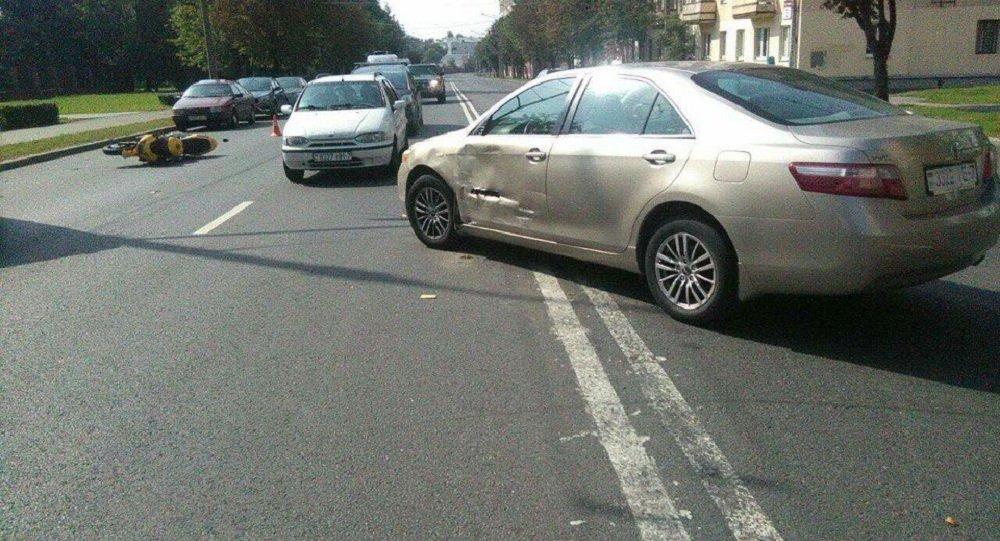 ДТП на Сурганова