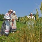 Праздник урожая Жыцень показывает, какое важное место в традиционной культуре занимало земледелие.