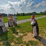 Любой народный праздник сопровождался песнями и обрядами.