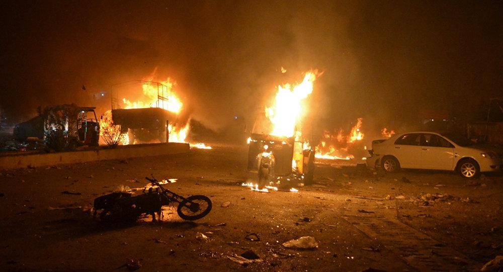 Взрыв в пакистанском городе Кветта