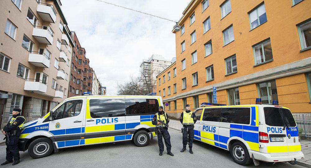 Полиция Швеции архивное