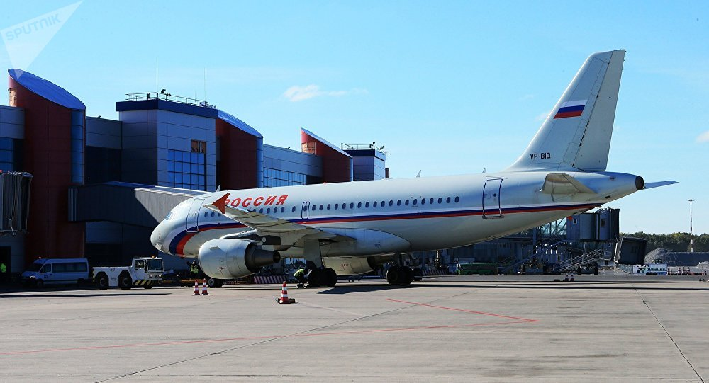 Калининградский аэропорт Храброво, архивное фото