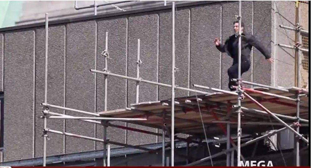 Инцидент с Томом Крузом во время съемок фильма Миссия: невыполнима-6