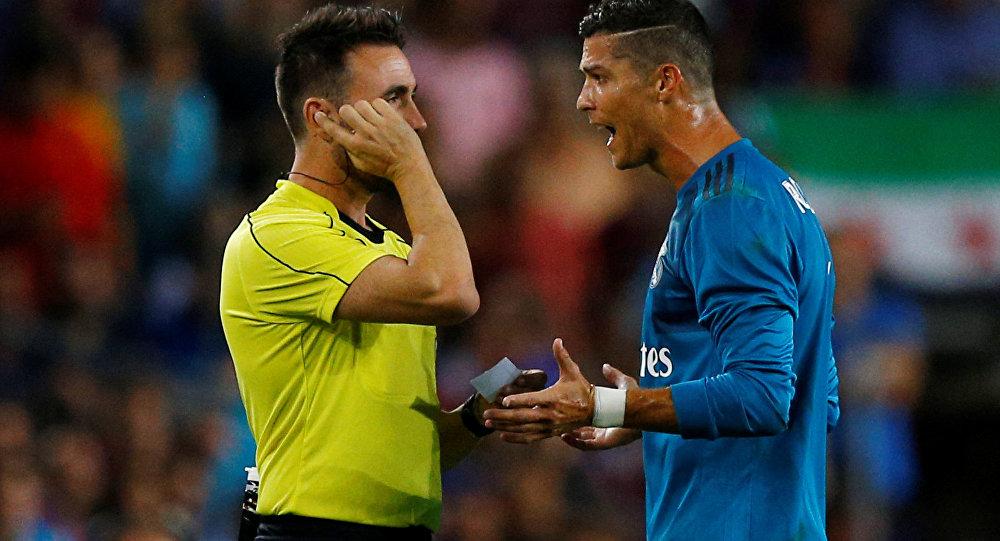 «Реал» одержал победу у«Барселоны» впервом матче заСуперкубок Испании
