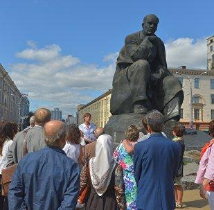 У Мінску прэзентавалі экскурсію па месцах Якуба Коласа