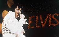 Элвис Пресли в 1972 году