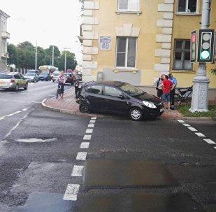 ДТП в центре Минска