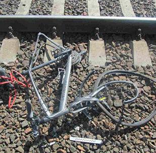 Разбитый велосипед